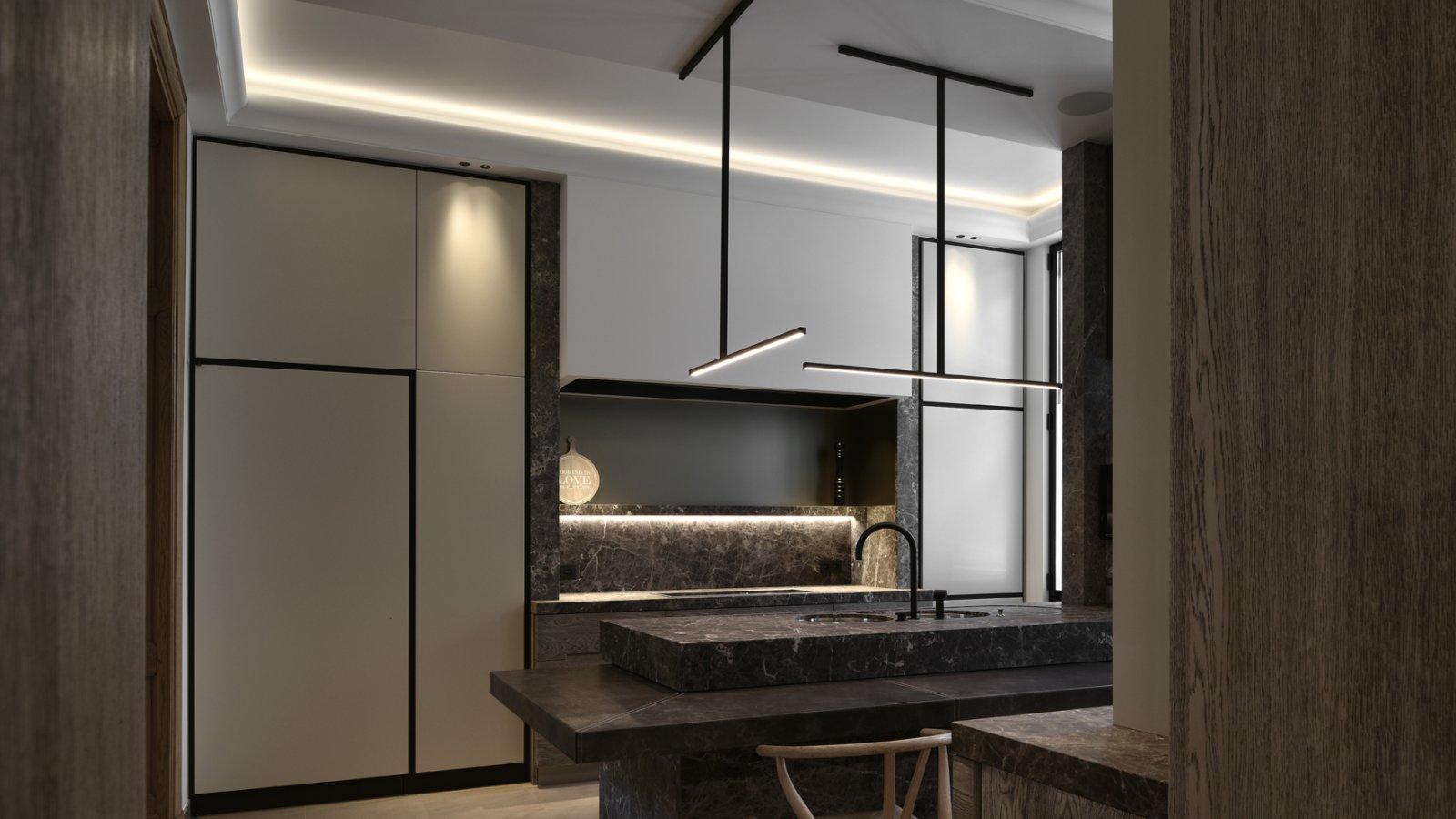 kreon lighting. Private Residence, Menen Kreon Lighting L