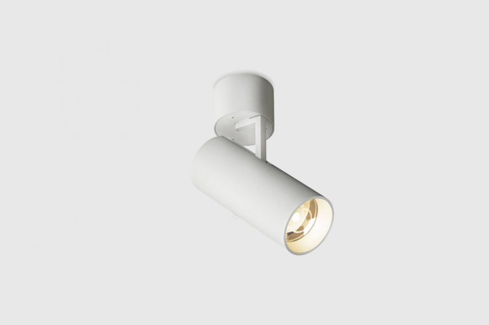 Holon 80 Directional Surface Mounted Led White Gear Incl Kreon